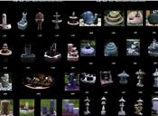 水槽、喷泉、石灯