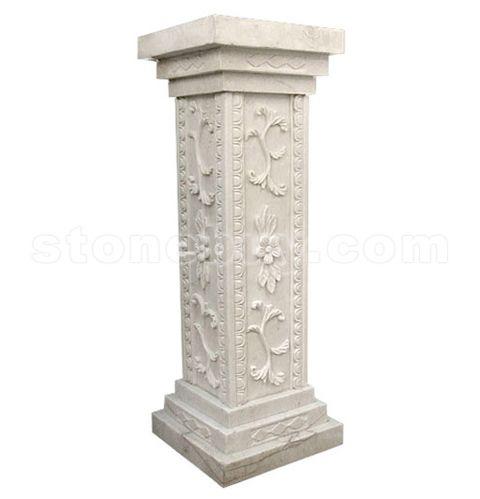 雕刻柱 NO:JZD16914