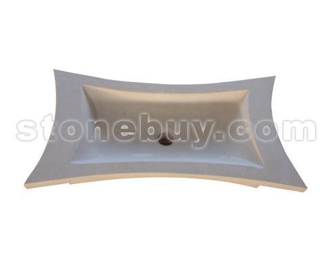 大理石异形洗手盆 NO:CPY26203