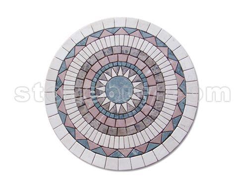圆形下沉式广场手绘