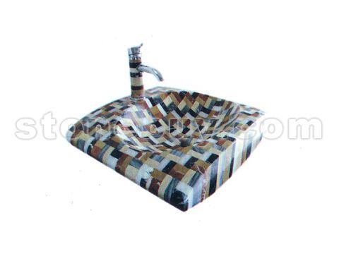 马赛克洗手盆 NO:CPM25901