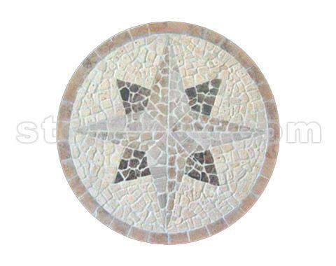 圆形铺装广场手绘