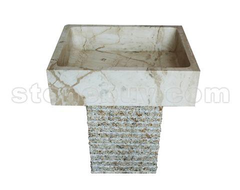 石材台柱盆-套盆 NO:CPZ24868