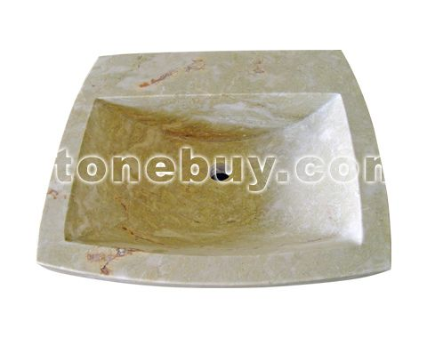 大理石异形洗手盆 NO:CPY24914