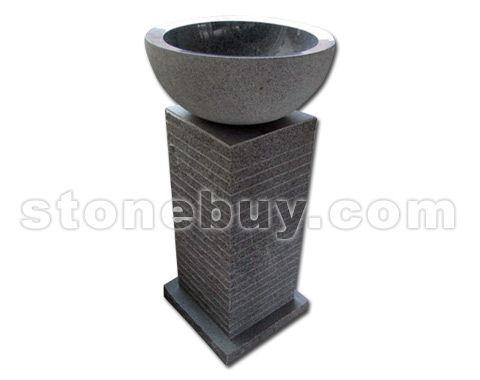 石材台柱盆-套盆 NO:CPZ24933