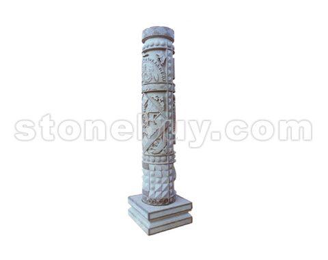 雕刻柱 NO:JZD19577