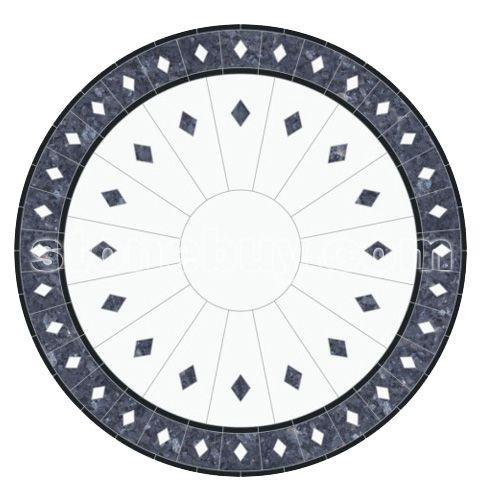 圆形拼花贴图 > 马赛克