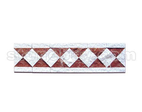 长方形大理石拼花内容 长方形大理石拼花版面设计图片